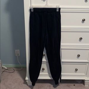 navy blue sweatpants Brandy Melville